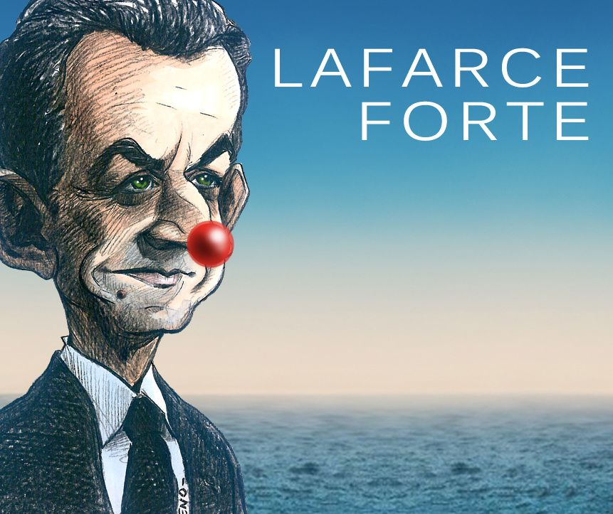 la farce forte nez rouge