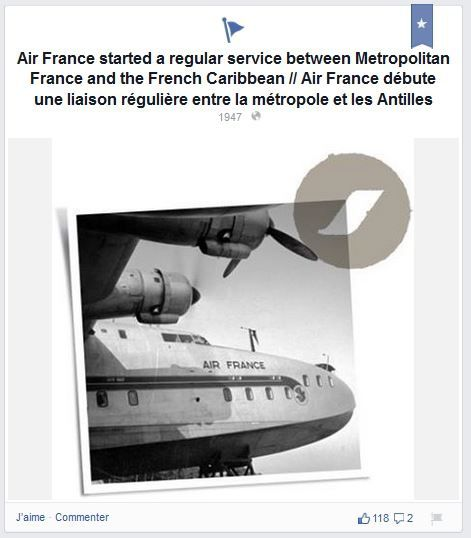 AirFrance Facebook
