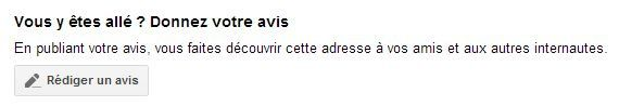 avis client google local
