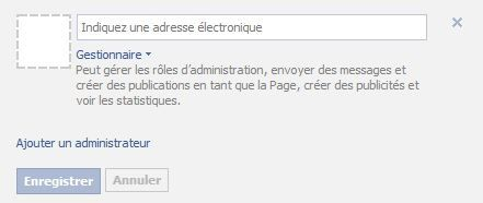 role administrateur facebook