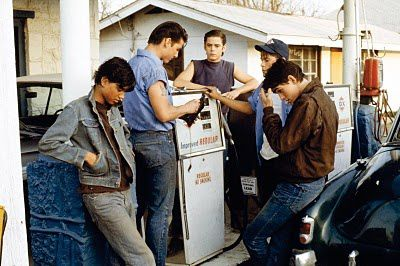 The Outsiders Cruise Howell Macchio Dillon Lowe
