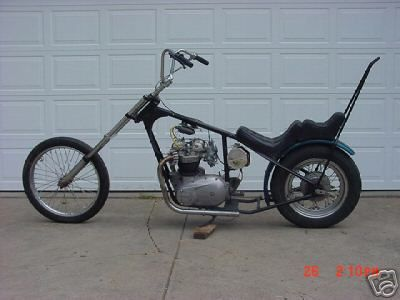 triumph 650 chopper