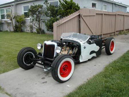 Hot Rod Surf 1930 Flathead Mod 001