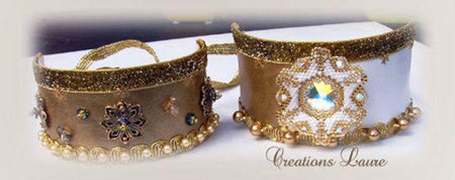 bracelets cuirs de Laurence