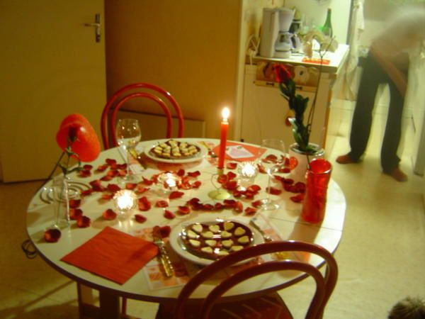 Saint valentin la table le blog de colauraline - Table de saint valentin ...