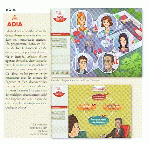 Dictionnaire e-learning d'Amplitudes - Adia