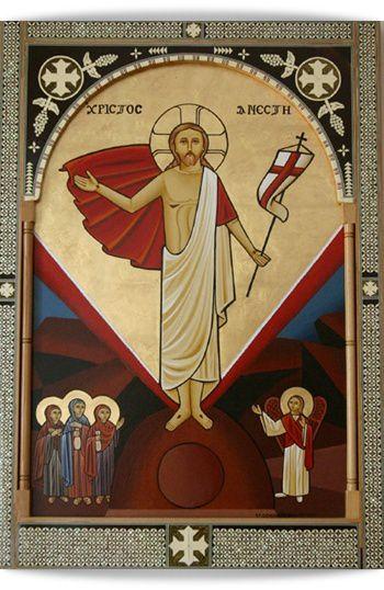 """Résultat de recherche d'images pour """"Icône Copte de la Résurrection"""""""