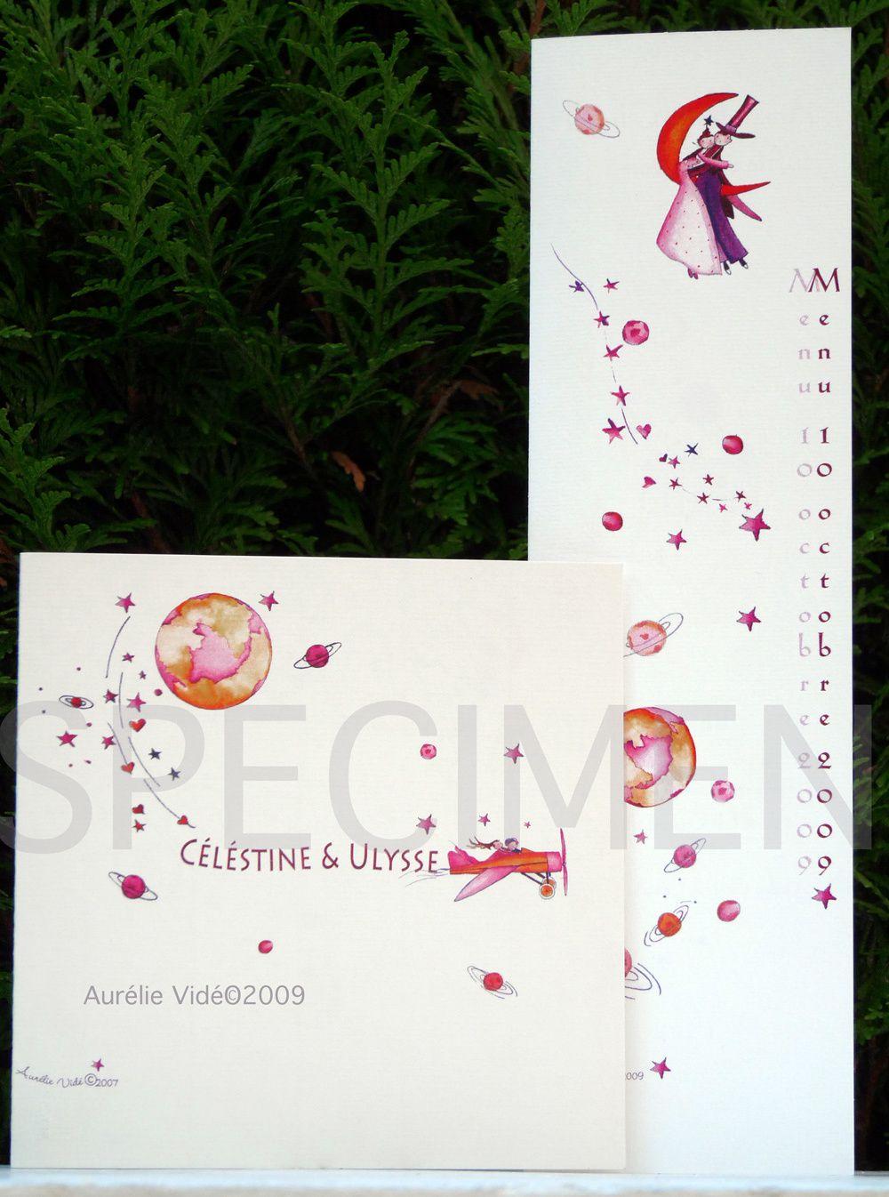 faire-part Aurélie vidé création et personnalisation&#x3B;
