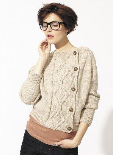 modele de tricot pull femme gratuit