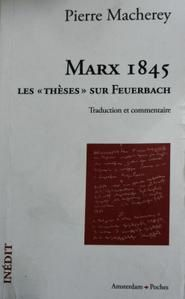 Theses on Feuerbach