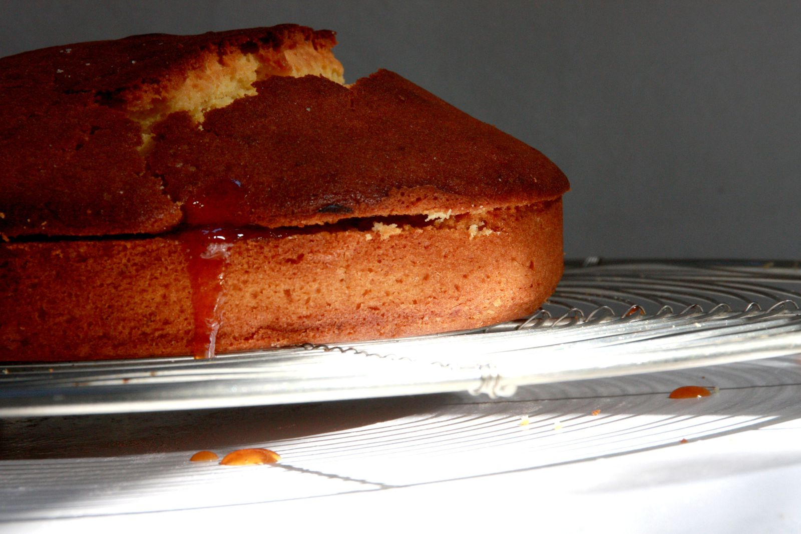 Cake Chocolat Confiture D Orange Amere