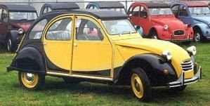 2cv charleston rouge delage