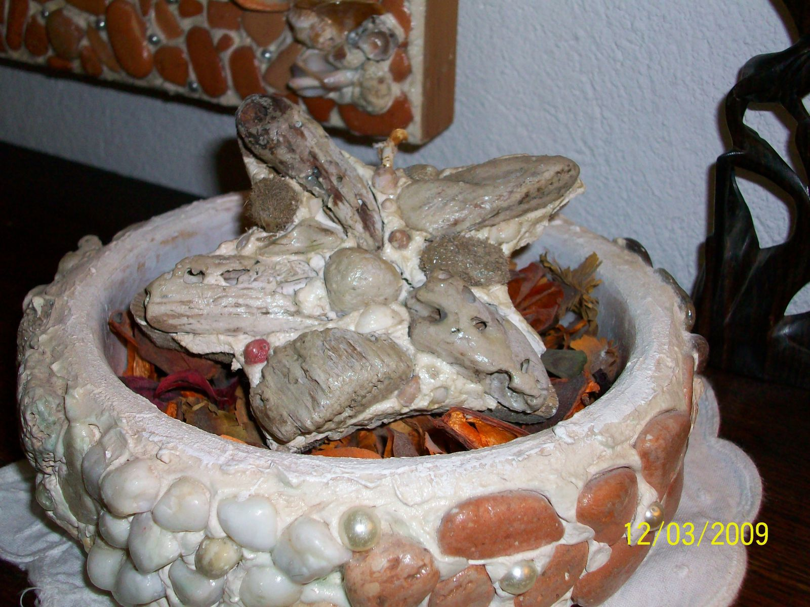 Mosaiques galets et verreries en vrac chatsdamour for Galets exterieurs en vrac