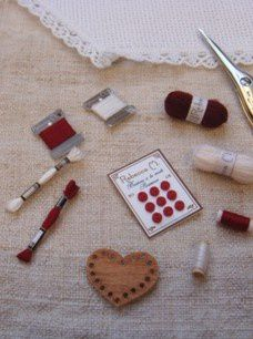 ensemble miniatures rouges fraga