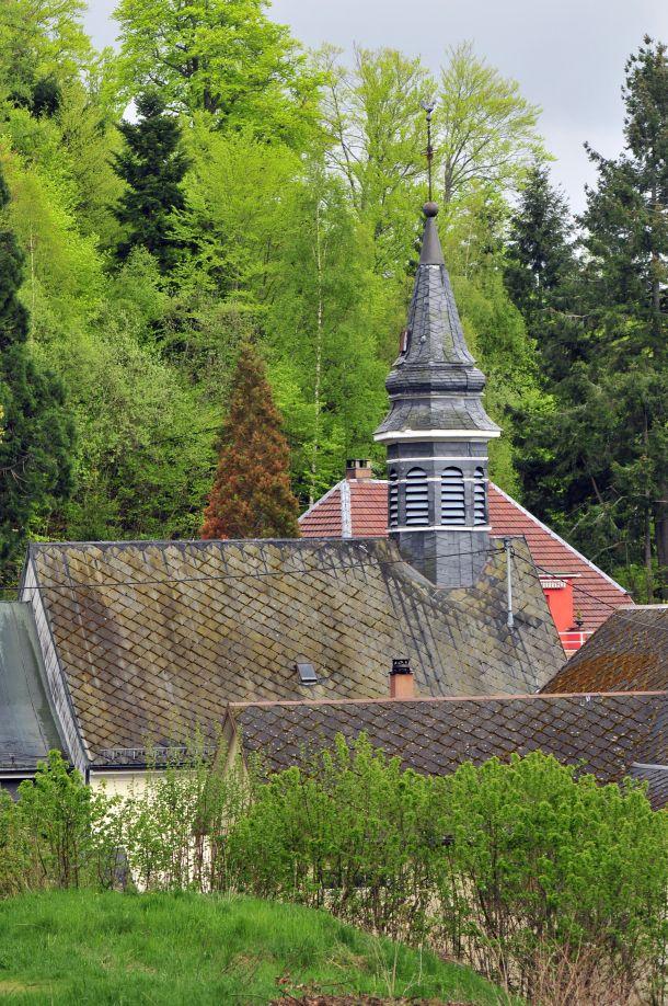 Beaux villages d'Alsace, châteaux : bouxwiller : Bastberg, Ribeauvillé : château Saint-Ulrich (alt. 530 m), le plus imposant et le mieux conservé des trois châteaux de Ribeauvillé, église fortifiée de Hunawihr, Le Hohwald : village, sculptures et cascade, Orage à Zillisheim