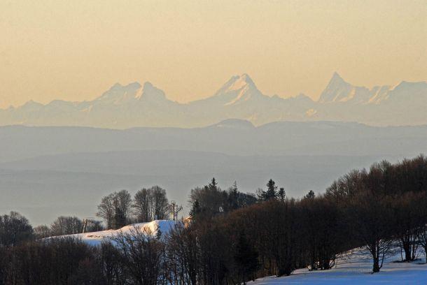 Paysages autour du Ballon d'Alsace et de la vallée de la Doller