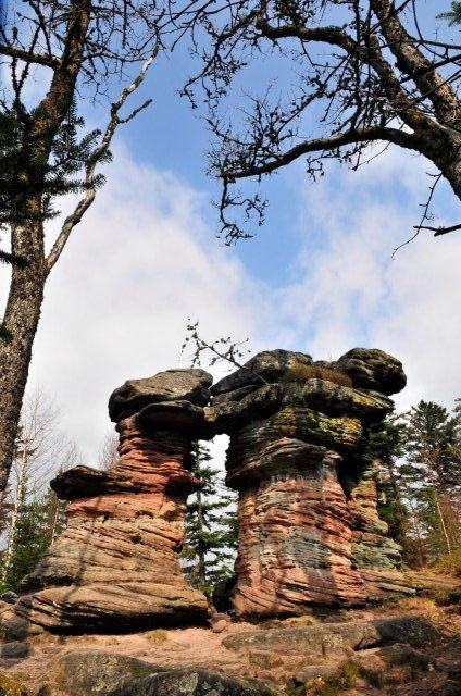 Lutzelhouse. Un monument naturel situé dans le massif du Donon, très visité et apprécié par les randonneurs.