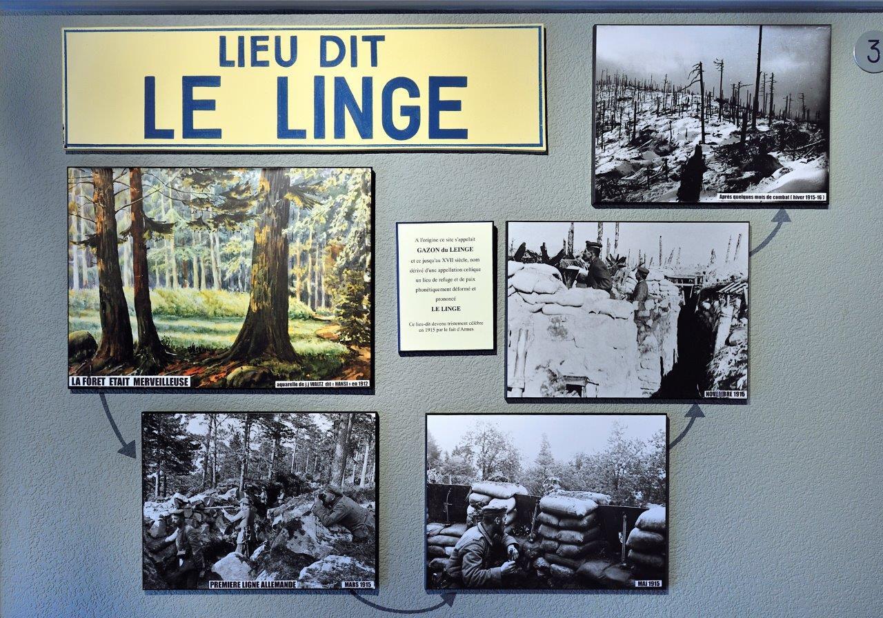 Mémorial du Linge, guerre de 1914-1918, Orbey.http://www.linge1915.com/fr/musee/