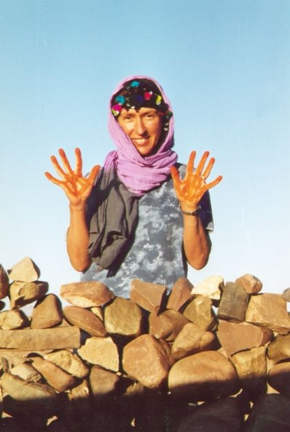 Séjour chez les nomades de la vallée du Draa.