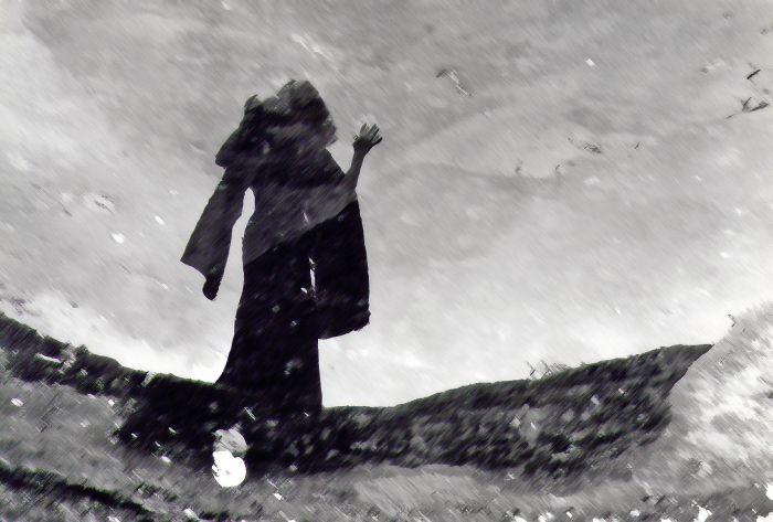 Images d'archives ou plus récentes, un cheminement dans l'imaginaire sur le thème de la sorcière, illustrant certaines légendes des Vosges.