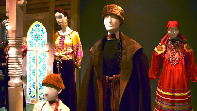 Costumes Traditionnels Russes Des Costumes Traditionnels