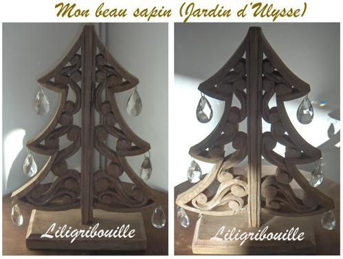sapin sculpt en bois jardin d 39 ulysse le blog de. Black Bedroom Furniture Sets. Home Design Ideas