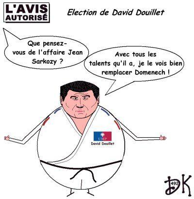 Tags : David Douillet, élection, Jean Sarkozy pas nu, népotisme, piston, EPAD, Nicolas sarkozy, UMP, gouvernement, ministres, droite, Rambouillet, assemblée nationale, députés, humour, dessin humoristique, image, gag politique, parodie, caricature, joke, drôle