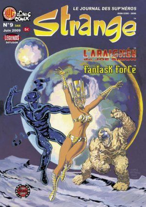 Tags : Strange N°9, Organic Comix, Jack Kirby, Silver Star, Reed Man, Fantask Force, Venturesome Motes, Chris Malgrain, Robert Burke Richardson, Jean Depelley, Megasaura, Patrice Lesparre, Comics BD, bande dessinée, Rym & Cie, The myth of 8-Opus, Tom Scioli, Jean-Marie Arnon, Jim Simon, Joe Simon, Spider Spry, The Fly, L'araignée bondissante