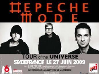 Tags : Depeche Mode, Stade de France, concert, Sound of the unvierse, Wrong, chanson, deernier labum, coffret 3 CD + 1 DVD, finale de coupe de France avec l'AJA, AJ Auxerre, football, 17 décembre 1984, Playing the angel
