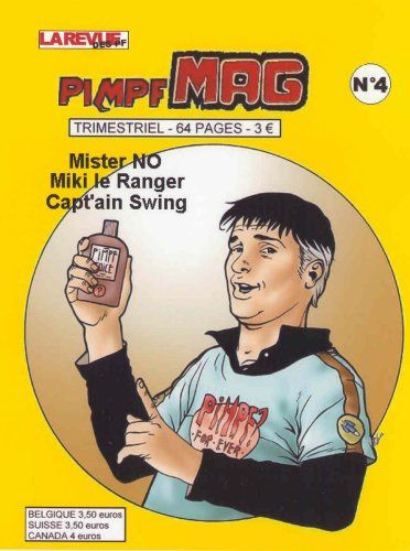 Pimpf Mag N°4 (Mister No,Fred Grivaud)