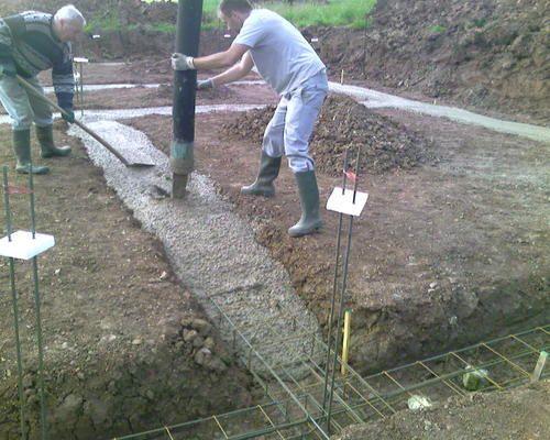 B ton de fondation c ble lectrique cuisini re - Dosage beton fondation ...