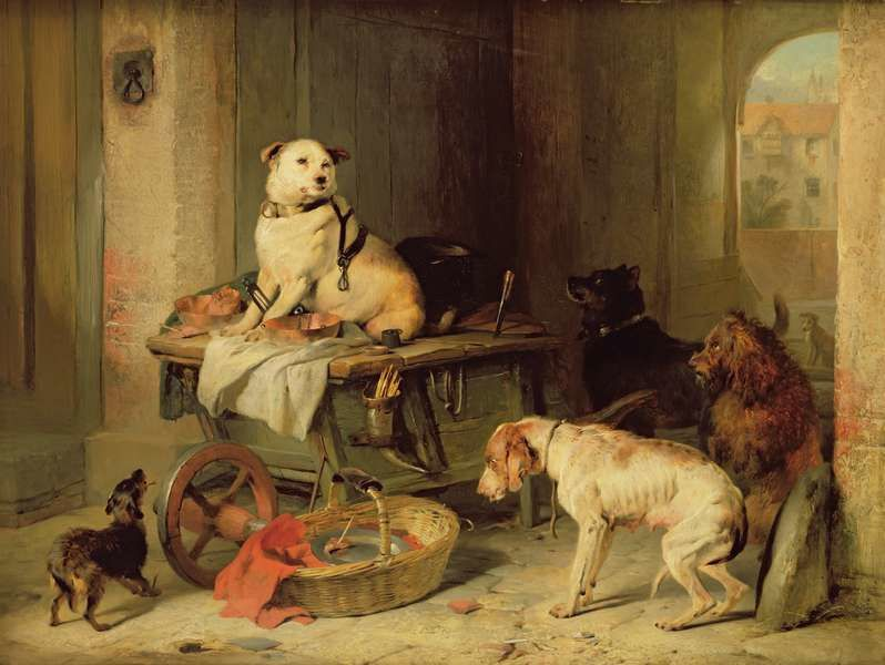 Landseer - Jack in office