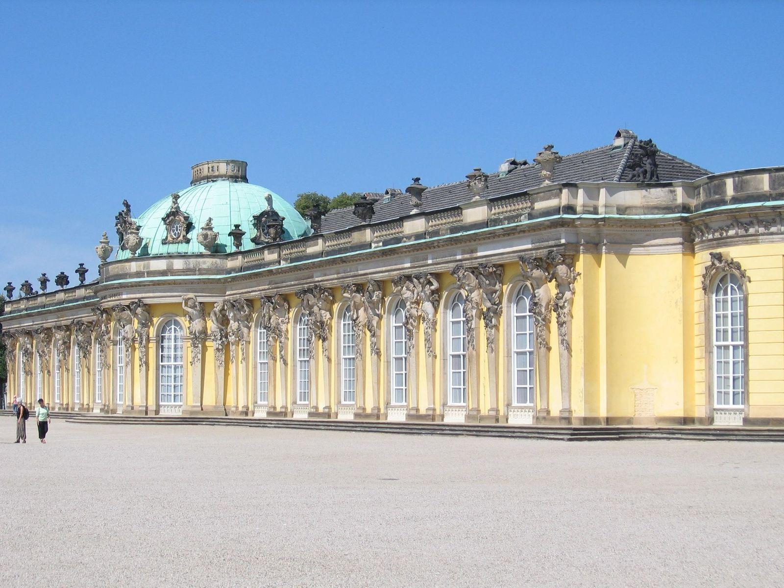 Potsdam, Schloss Sans-Souci