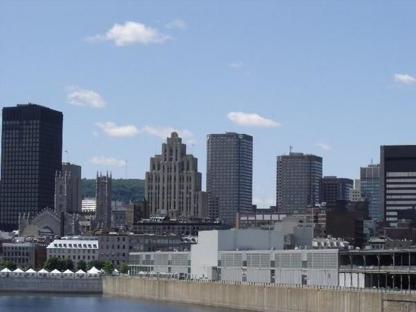Montréal vu de l'ile St Helene