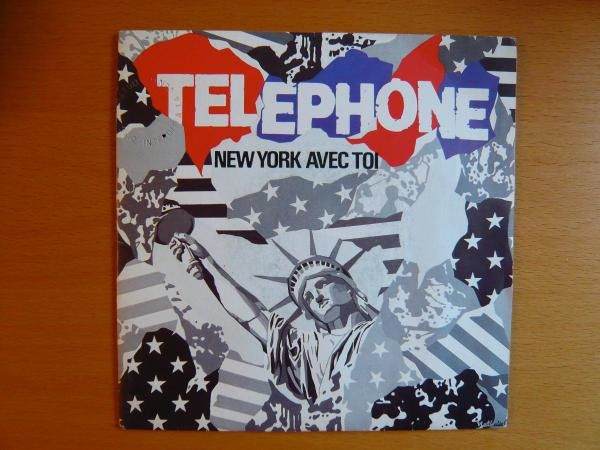 Telephone new york avec toi in paris version promo - New york avec toi ...