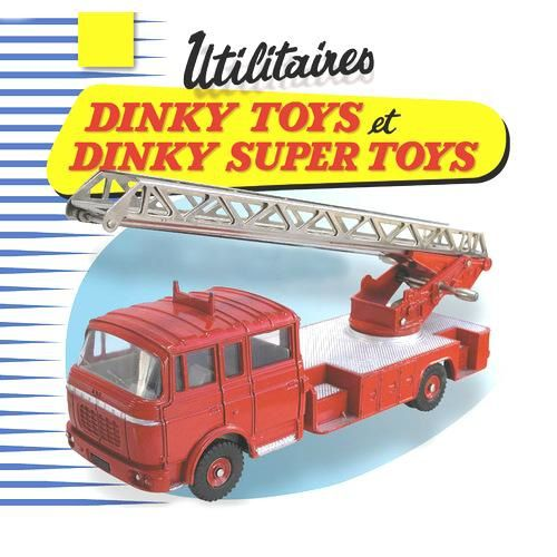 Dinky toys camion pompiers