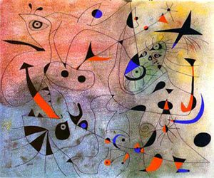 Joan Miró morning star