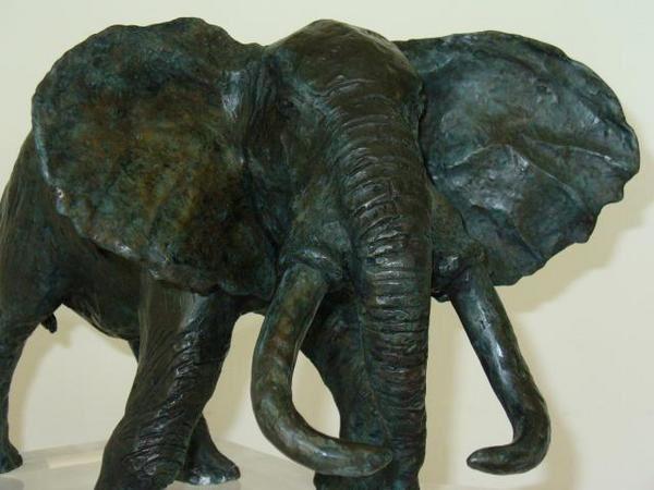 Favret sculpture éléphant