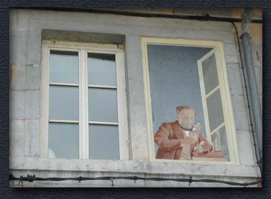 Trompe l'oeil - Pasteur