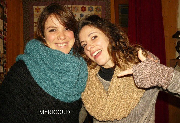 tricoter un tour de cou adulte