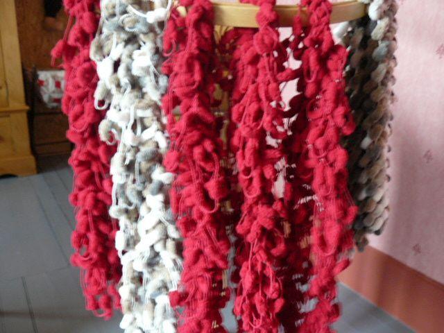 étoles_laine_pompons_crochet