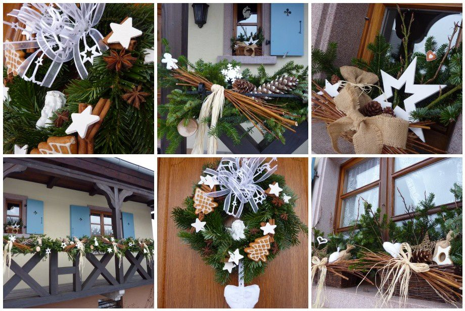 Pr paratifs le scrap de mary - Decoration murale pour noel ...