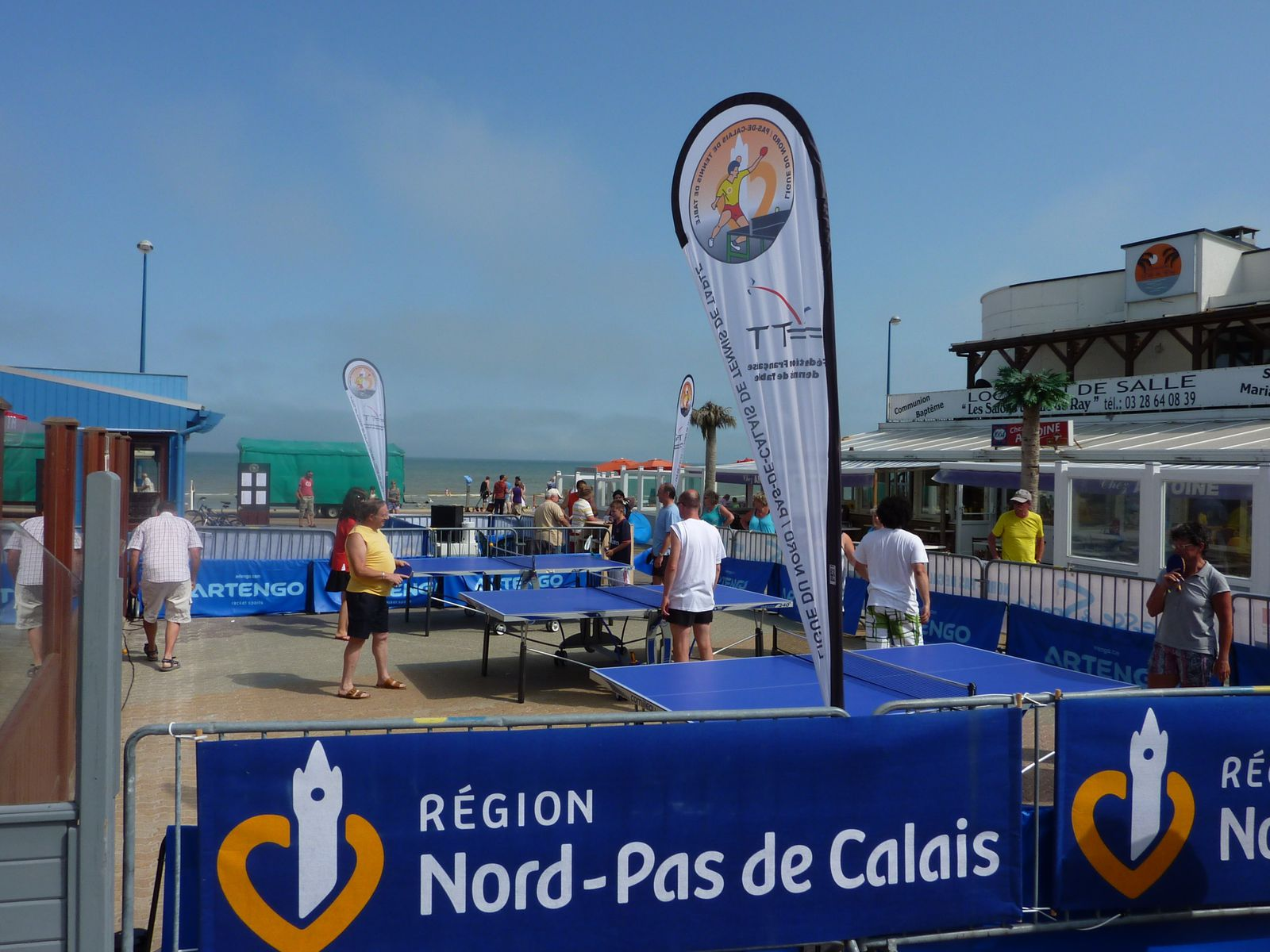 Bray le tennis de table fait escale le - Ligue du nord pas de calais de tennis de table ...