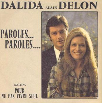 Dalida couple