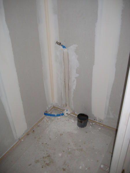 7 juillet 2008 finition des joints placo et plomberie saint julien sur reyssouze. Black Bedroom Furniture Sets. Home Design Ideas