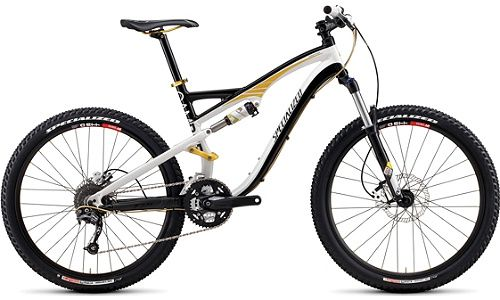 SPECIALIZED CAMBER FSR COMP White Black Gold