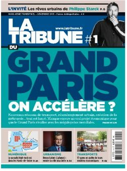 couverture la tribune grand paris numero1