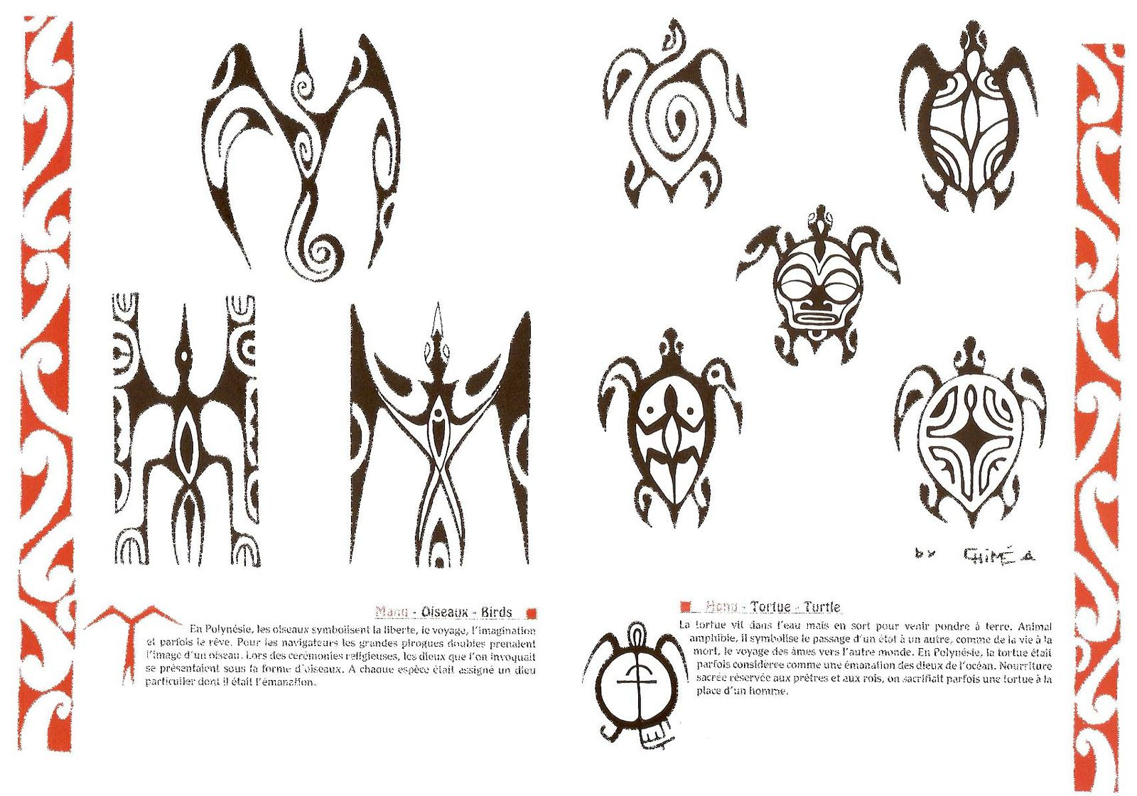 Signification tatouage polyn sien raie galerie tatouage - Tatouage tribal signification ...