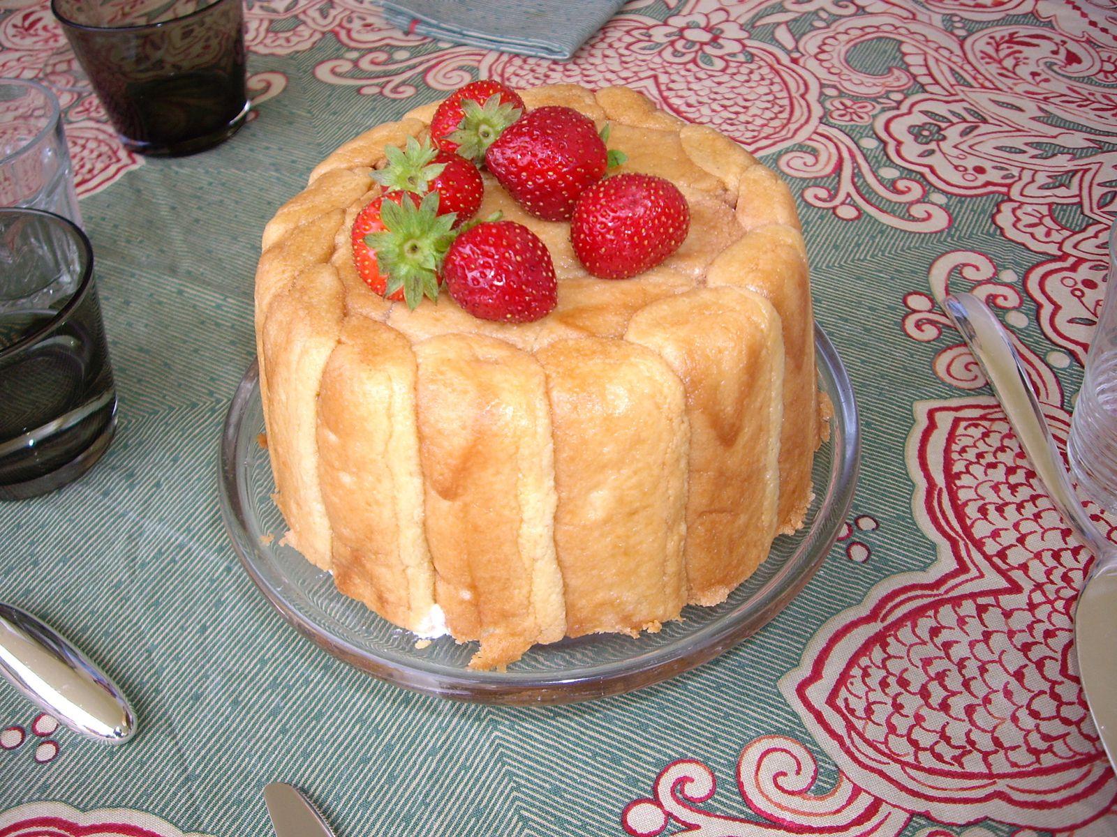 Recette gateau mousse fraise sans gelatine