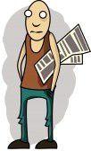 10876785-illustration-guy-maigres-avec-un-journal-sous-le-b